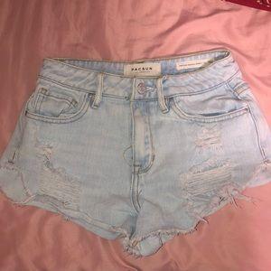 Pacsun festival shorts